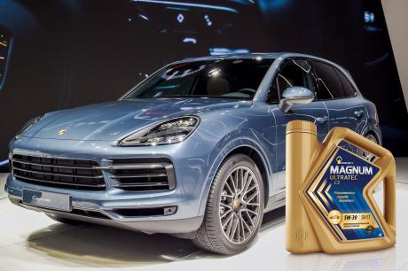 Премиальное масло Rosneft Magnum Ultratec С3 получило одобрение Porsche