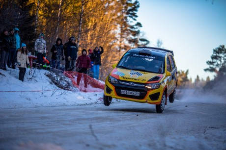 Первая победа LADA SPORT ROSNEFT Rally в сезоне-2017